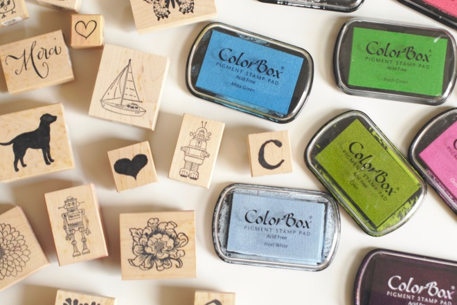 Stamping Ideas for Children