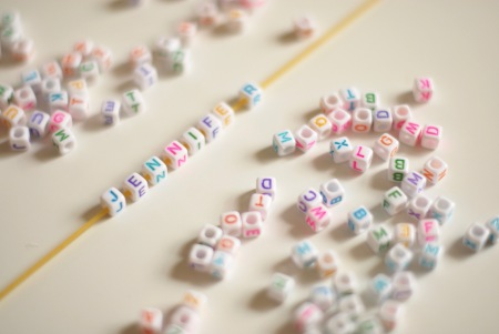 Writing With Beads